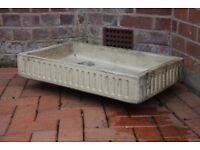 """Vintage butler sink. Approx 30"""" by 18"""" by 5"""". £10"""