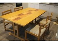 Dining/Kitchen Table & 5 Chairs