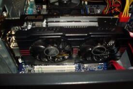 ASUS NVIDIA GTX 650 Ti DCU 1GB GDDR5 Graphics card GPU Gaming