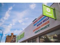 Come and join our fantastic volunteer team at Oxfam, Hereford!