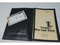 Longines Lindbergh Hour Angle watch - 1987 - 989 5215 model - Wallet and certificate