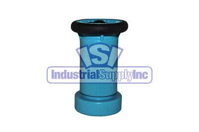 Fire Hose Nozzle Wbumper 1-12 National Pipe Thread Npt Polycarbonate