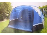 GO OUTDOORS MOJAVE 5 TENT AND PORCH