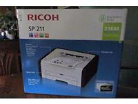 Brand NEW Ricoh SP211 Laser Printer 2year Warranty, Sealed Box