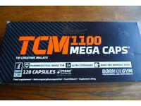 TCM 1100 Mega Caps Tri Creatine Malate Gym Capsules rrp £19