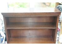Solid wood bookcase/ unit