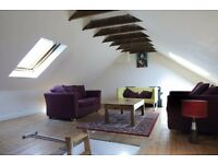 Fantastic, two bedroom flat with large attic space! Available Now!