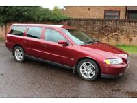 2005 Volvo V70 D5 2.4 Diesel Estate 6 Speed Manual 2 owners Full Volvo Service History