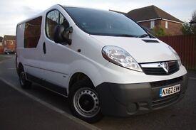 Vauxhall Vivaro 2.0 CDTi 2900 Crew Van 4dr (SWB, EU5)