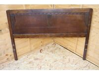 Antique Solid Wooden Double Bed Frame