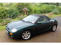 MGF (1996) BRITISH RACING GREEN - LOW MILAGE - CREAM LEATHER