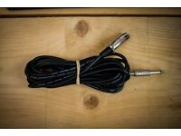 "5m Female XLR - Male 6.3mm / 1/4"" Jack Cable"