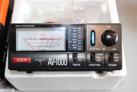 AVAIR AV 1000 SWR POWER METER