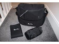 Latest Silver Cross Wayfarer Pioneer Changing Bag Black *will post*