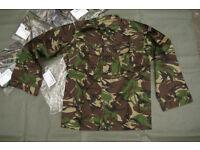 Brand New - British Army Issue DPM Shirt / Lightweight Jacket - size Medium to Large