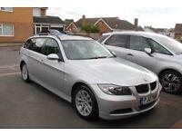 BMW 320d E91 Auto Touring E90 FSH 96k, Sat-Nav, Sunroof, Leathers, Xenons
