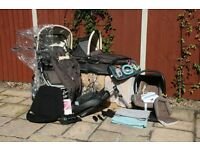 Quinny Speedi Maxi Cozi Travel System Pushchair and baby car seat