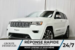 Jeep Grand Cherokee overland + cuir + toit + gps + comme neuf 20
