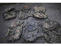 Grade2 British Army Issed DPM PLCE Bergan / Rucksacks,