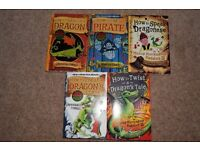 Set of How to Train your Dragon books