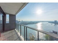 Very large & modern 1 bedroom flat - great location and views from 19th floor! GYm + location E14 JS