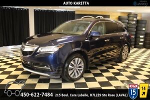2014 Acura MDX 7 PLACES AWD TECH REAR ENTERTAINMENT SYSTEM PACK