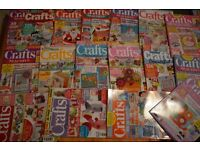 Magazines for craft card patchwork and quilting docrafts creativity