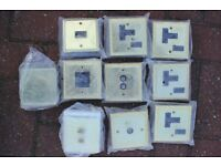 Assorted electrical sockets and fittings