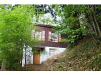 One bedroom chalet with land and breathtaking views for sale in St Gervais Les Bains, French Alps