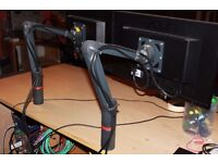 Novus 1.6 JetMaster 2 monitor arm with desktop fixing (20 available)