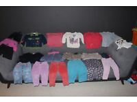 Large Bundle of Girls Clothes Age 1 1/2 - 2 Years