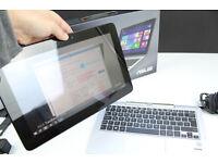 Asus T200T Laptop/Tablet - Full Windows 8.1 (not RT) + MS Office 2007, 500gb HD, 2gb Ram