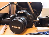 Canon 600D & Accessories - Ideal for Photographers or Filmmakers.