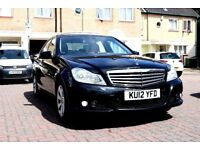 MERCEDES C220 CDI SE AUTOMATIC 4DR SALOON HPI CLEAR SATNAV EXCELLENT CONDITION