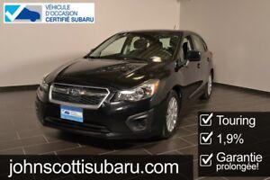 2014 Subaru Impreza 2.0i Touring 1.9% Extended warranty