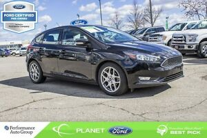 2015 Ford Focus SE FORD CERTIFIED LOW RATES & EXTRA WARRANTY!