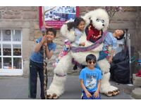 Haggis Fun Mascot Entertainer Children Birthday Parties Hen & Stag Party Celebration Anniversary