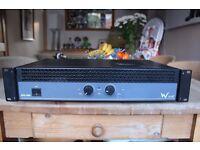 W - Audio EXP 800 PA AMPLIFIER HIGH POWER AMPLIFIER