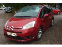 Citroen C4 Picasso 7 vtr 7 Seater 2007-57-plate, 1798cc petrol, 12 months warranty inclusive,