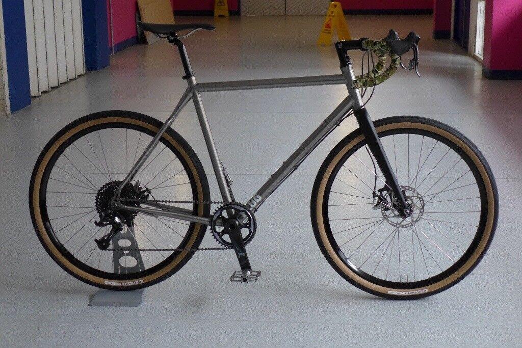 Charge Plug 5 Anium Road Gravel Bike 650b Wheels Sram Nitto 57cm