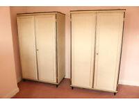 UMBERTO MASCAGNI Wardrobes Vintage Italian Furniture 1950's