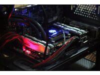 i7-5820k, 32GB Ram, (+ GTX 1080) ,500GB SSD + 2TBHDD,Blu-Ray, Asus 4K Monitor,WiFi