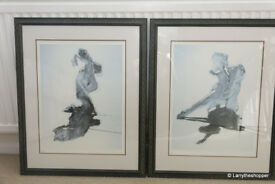 2 x Robert Heindel Framed and Signed Limited Edition Prints - Belong I & II