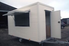 Catering trailer new 4m. L x 2m. W/ burger or ice cream trailer/ 2018/ BEST DEAL