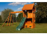 Selwood Climbing Frame, Playhouse, Swings, Slide RRP £873 - One Year Old