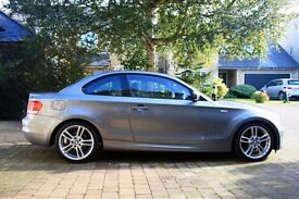 BMW 120d M Sport Coupe 2011 - Space grey in excellent condition with mileage of 34,000