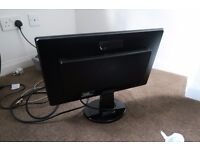 New 21.5 inch widescreen LED Benq monitor