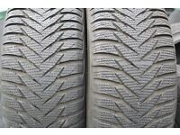 Good Year Set of 4 Winter Tyres Like NEW used 2 weeks only