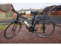 Mens Hybrid Bike - Raleigh Loxley 18 inch frame