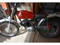 Cotton 250 lightweight trials bike